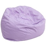 Purple Fabric kids bean bag
