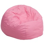 Pink Fabric kids bean bag