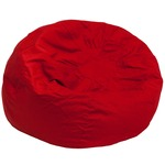 Red Fabric kids bean bag