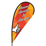 Bueno Bonito y Barato Flex Blade Flag - 09' Single Sided