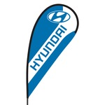 Hyundai Flex Blade Flag - 09' Single Sided
