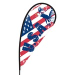 USA Flex Blade Flag - 09' Single Sided