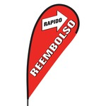 Reembolso Rapido Flex Blade Flag - 09' Single Sided