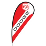 Dodge Flex Blade Flag - 09' Single Sided