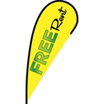 Free Rent Flex Blade Flag - 12'