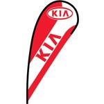 KIA Flex Blade Flag - 12'