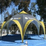 15x15 Action Tent