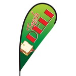 Fresh Deli Flex Blade Flag - 09' Single Sided