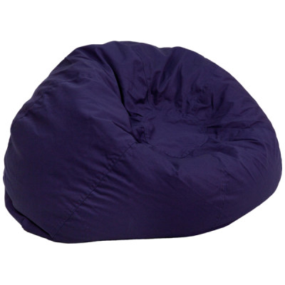 Blue Fabric kids bean bag
